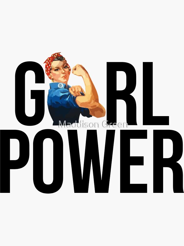 GIRL POWER Rosie The Riveter - Estilo 3 de maddisonegreen