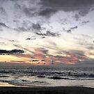 Sunset: Hapuna Beach by Elizabeth  Lilja