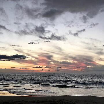 Sunset: Hapuna Beach by TheLoner