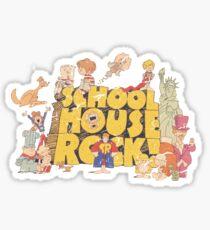 School House Rock-Distressed Sticker