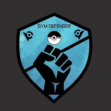 Gym Defender - Blue by jomzojeda