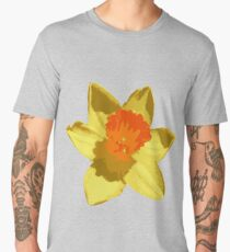 Spring Daffodil Vector Isolated Men's Premium T-Shirt