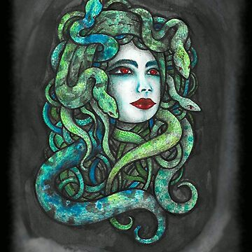 Medusa poison lips  by melaniedann