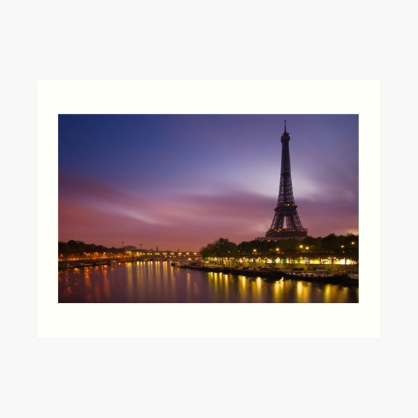 Paris, France. Art Print