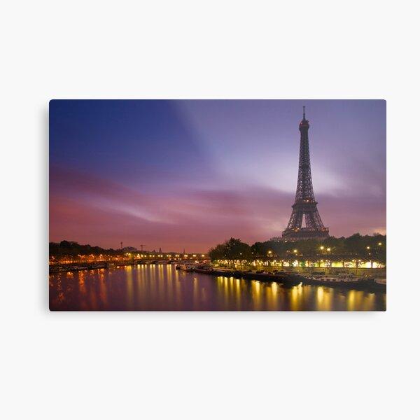 Paris, France. Metal Print
