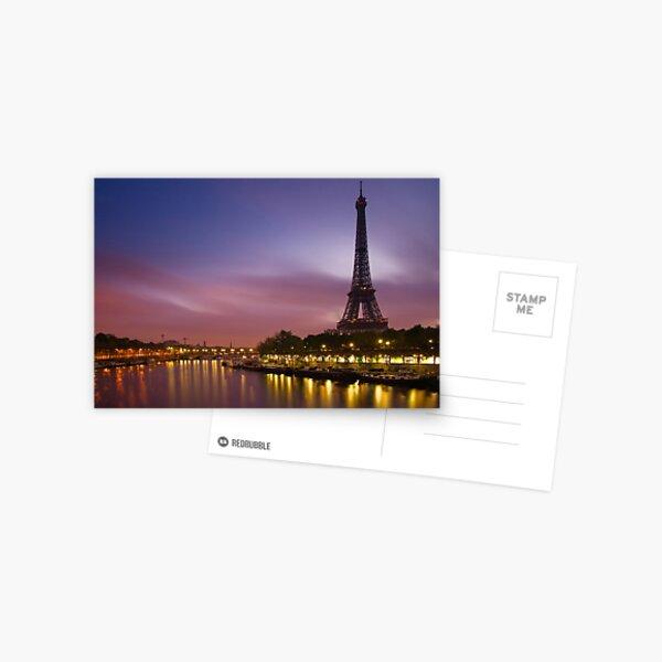 Paris, France. Postcard