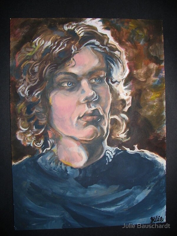 portrait by Julie Bauschardt
