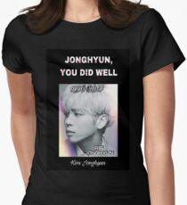 Jonghyun, You Did Well #2 Women's Fitted T-Shirt