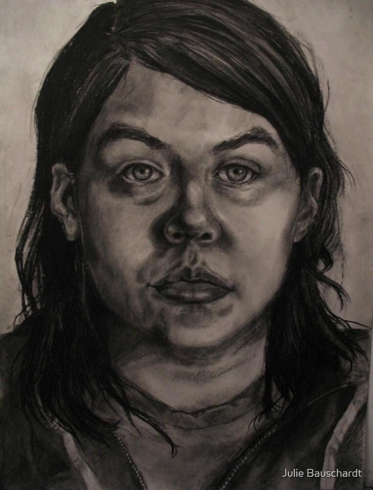 self portrait by Julie Bauschardt