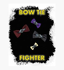 BOW TIE FIGHTER CARD Photographic Print