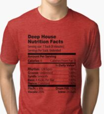 Deep House Tri-blend T-Shirt