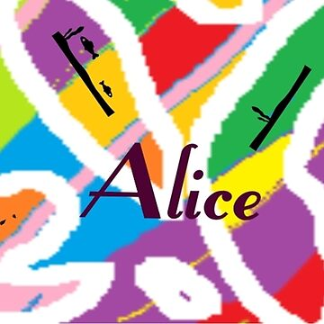 Alice - original artwork to personalize your gift by myfavourite8