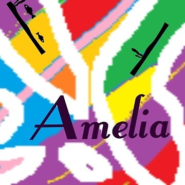 Amelia - original artwork to personalize your gift by myfavourite8