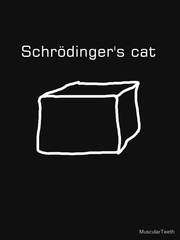 Schrödinger's cat by MuscularTeeth