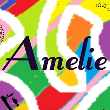 Amelie - original artwork to personalize your gift by myfavourite8