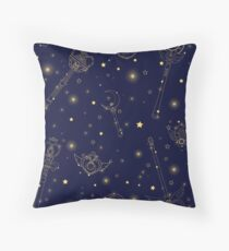 Sailor Moon Constellation Throw Pillow