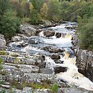 Tumbling Highland River at Silverbridge by SiobhanFraser
