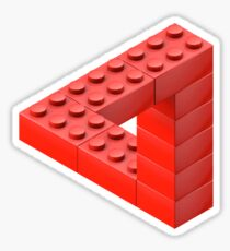 Escher Toy Bricks Sticker