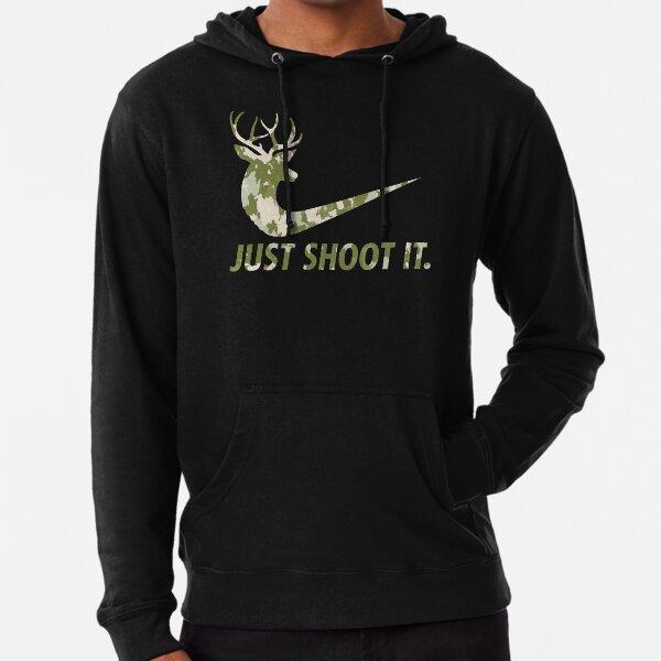 Solo hazlo divertido Caza Nike Deer Fashion Sudadera ligera con capucha