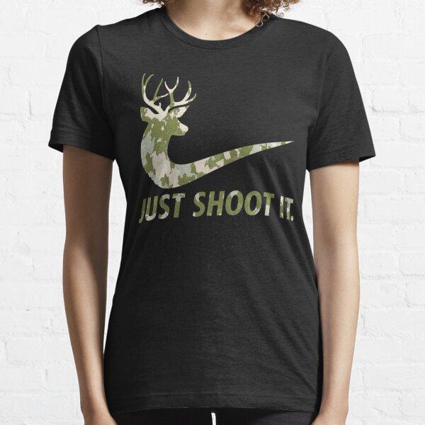 Solo hazlo divertido Caza Nike Deer Fashion Camiseta esencial