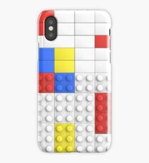 Mondrian Toy Bricks iPhone Case