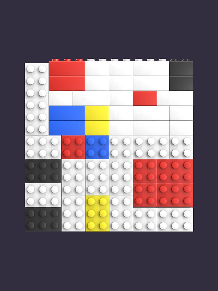 Mondrian Toy Bricks by chwatson