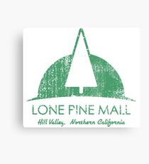 Lone Pine Mall - Distressed Canvas Print
