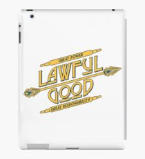 Lawful Good iPad Case/Skin