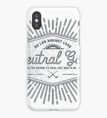 Neutral Good iPhone Case