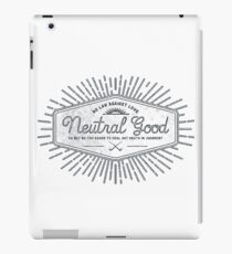 Neutral Good iPad Case/Skin