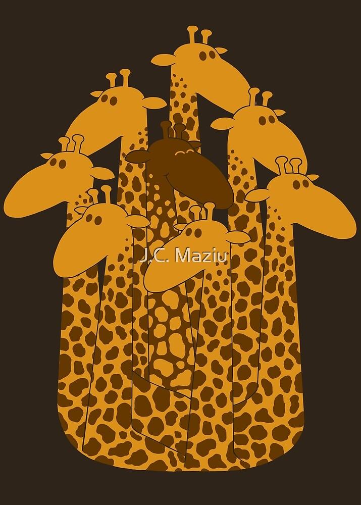 The black giraffe of the family by J.C. Maziu