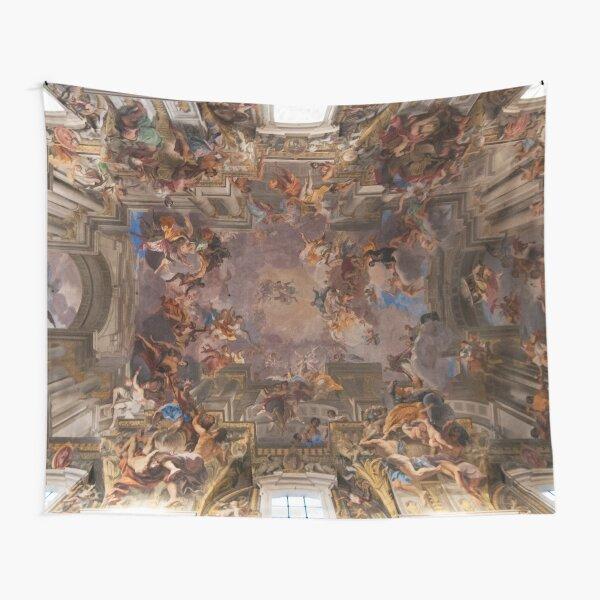 Sant'Ignazio Church Ceiling Fresco, Rome Tapestry