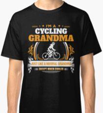 Cycling Grandma Christmas Gift or Birthday Present Classic T-Shirt