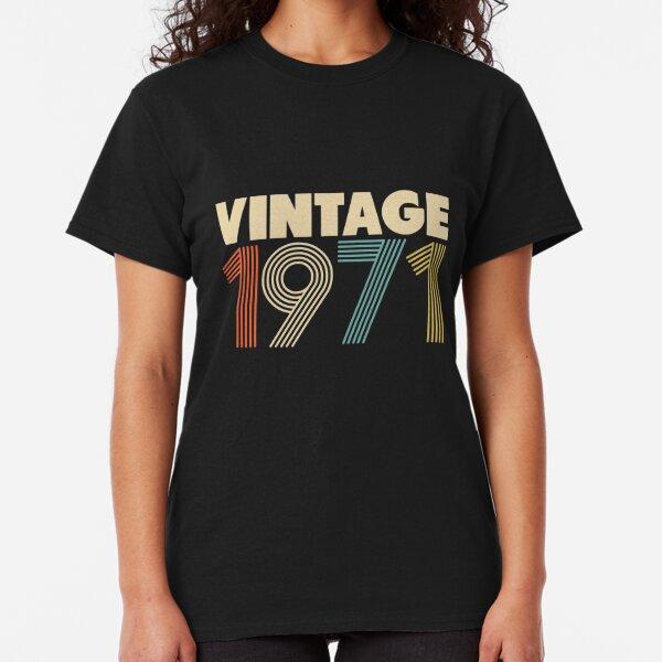 Vintage 1971 - 47th Birthday Classic T-Shirt