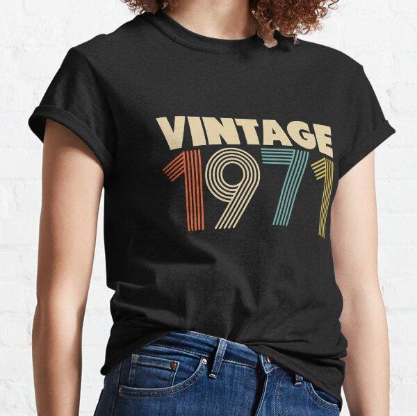 Millésime 1971 - 47e anniversaire T-shirt classique
