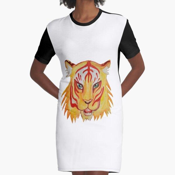 Siberian White Bengal Tiger Pack 100/% Cotton T-Shirt 3XL Front /& Back Print M