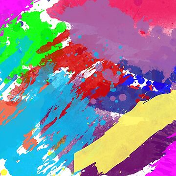 Abstract #paint strokes #shades of Colors #unique #new #Aariv by aariv