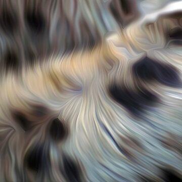 Hyena fur oil paint effect by funkyworm