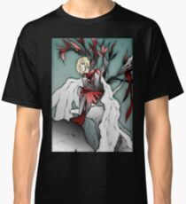 Blond anime boy in nature Classic T-Shirt