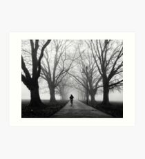 Foggy Path III Art Print