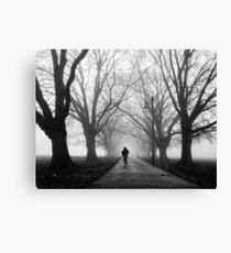 Foggy Path III Canvas Print