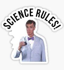 Bill Nye- Science Rules Sticker