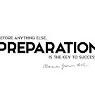 preparation, key to success - alexander bell by razvandrc