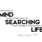 mind, searching my life - alexander bell by razvandrc