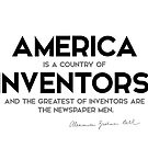 America, country of inventors - alexander bell by razvandrc