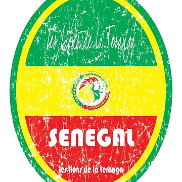 Football - Senegal (Distressed) by madeofthoughts