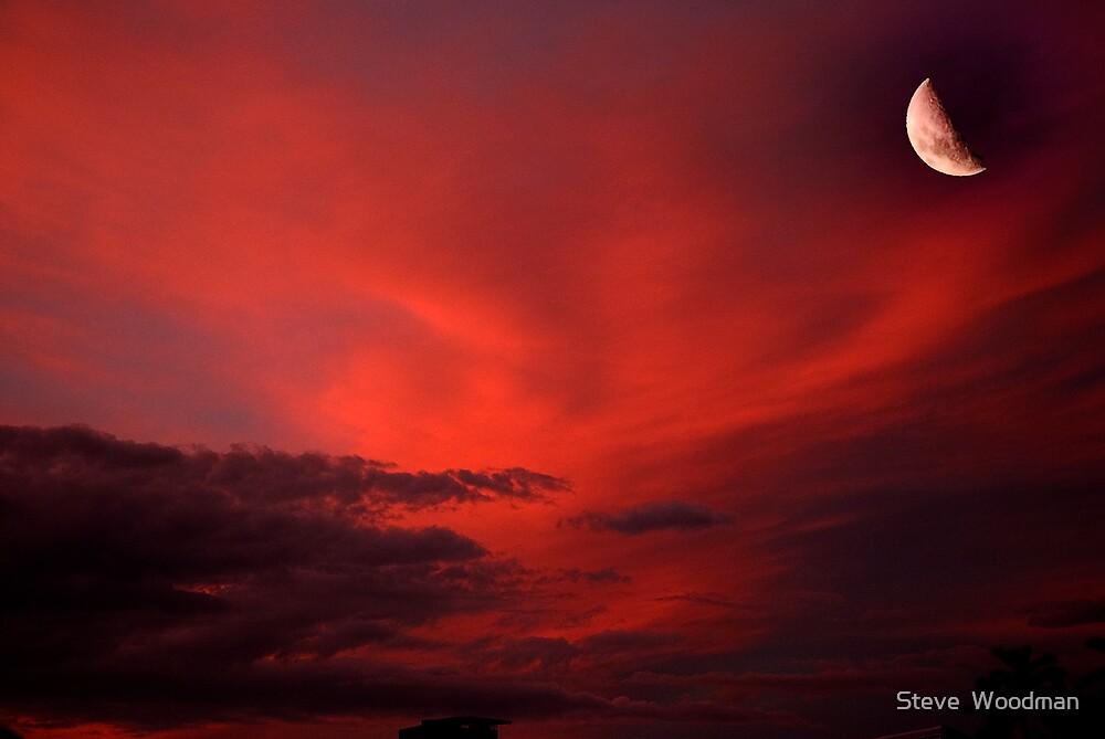 Sanguine Satelite by Steve  Woodman