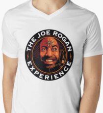 Camiseta para hombre de cuello en v La experiencia de Joe Rogan