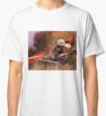 Vintage John Singer Sargent - Outdoors Study 1889 Fine Art Classic T-Shirt