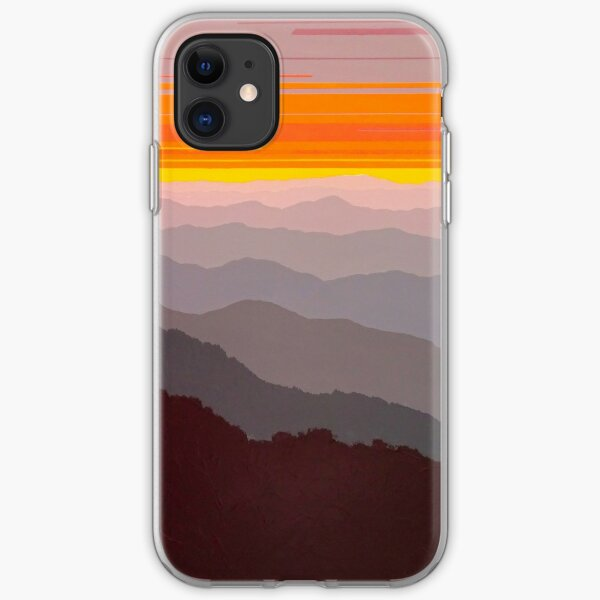 """""""Misty Mountain Morning"""" #97 iPhone Soft Case"""
